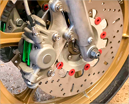 Brake caliper eligibility for GP Originals