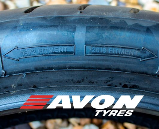Avon Tyres are the standard for Classic Motorcycle Racing and GP Originals