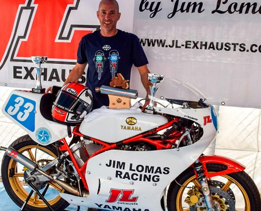JL Exhausts were title sponsors of GP Originals in 2018