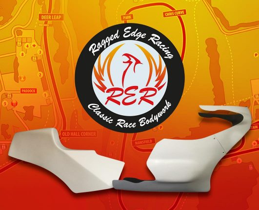 Ragged Edge racing classic motorcycle racing bodywork
