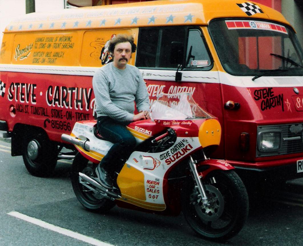Steve Carthy Racing began in 1969