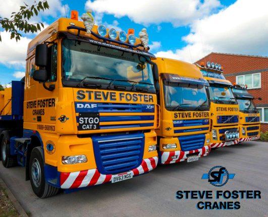 Steve Foster Cranes and GP Originals