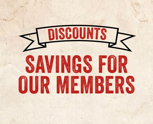 Discounts and savings for GP Originals members
