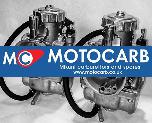 Motocarb sponsor GP Originals classic bike racing in the UK