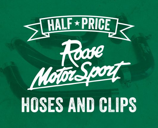 Half price hoses and clips for GP Originals riders from Roose Motorsport