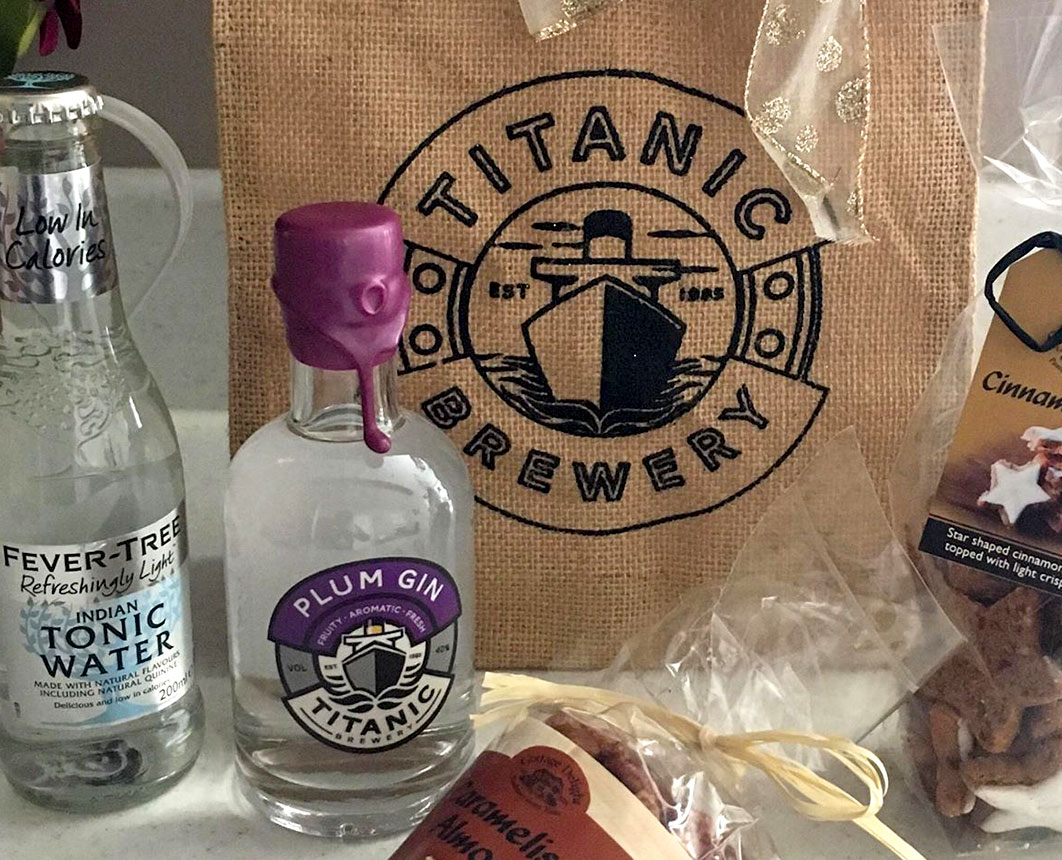 Titanic Brewery, Gin gift bags for GP Originals