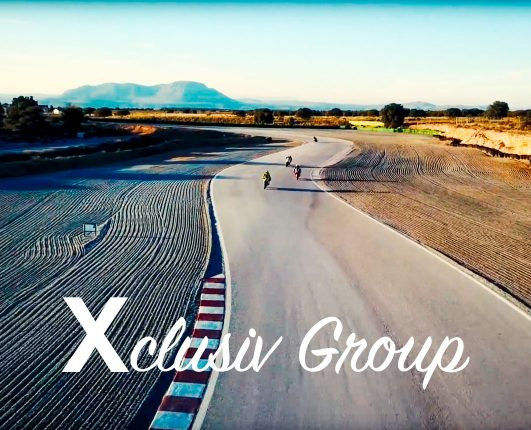 Xclusiv Group motorcycle racing and winter testing with GP Originals