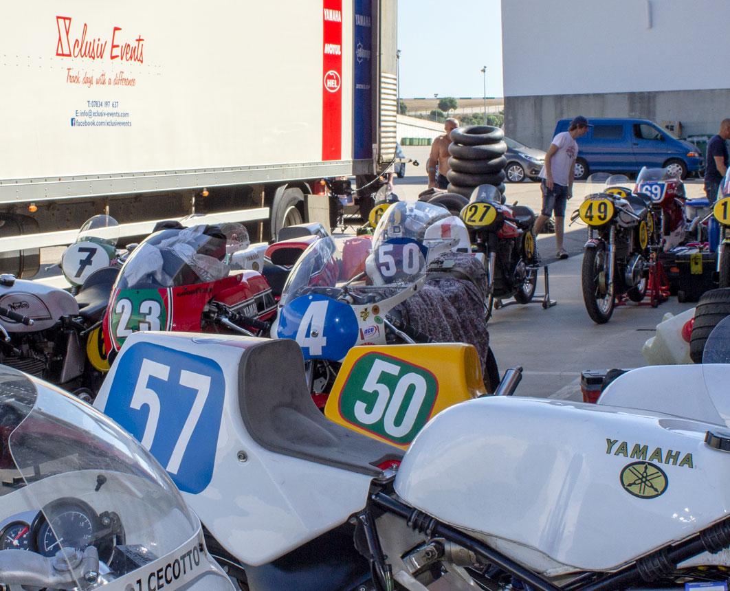 Xclusiv Group transport GP Originals and Lansdowne Classic Series to Portimao, Algarve Historic Festival