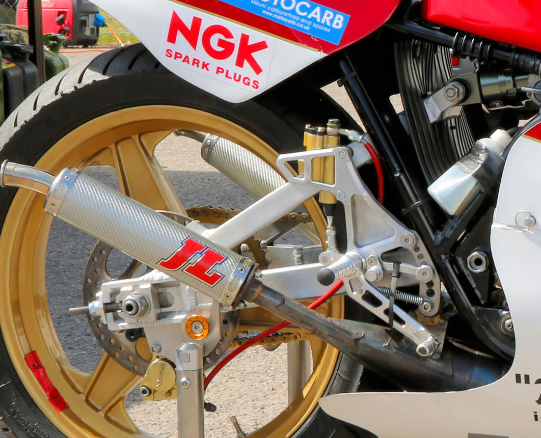 GP Originals Harris swingarm