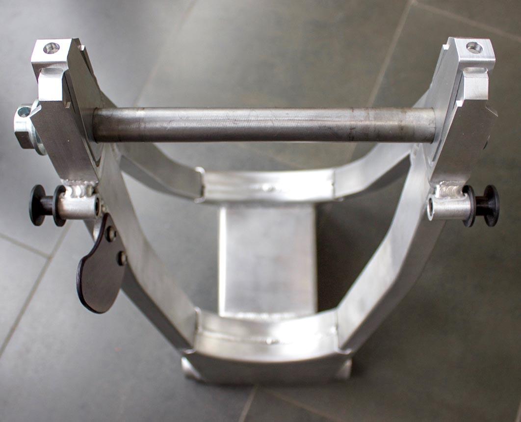 Bora Specialist Fabrications TZ350 swing arm