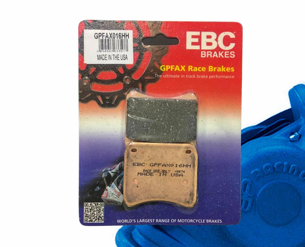 EBC race compound pads for TZs