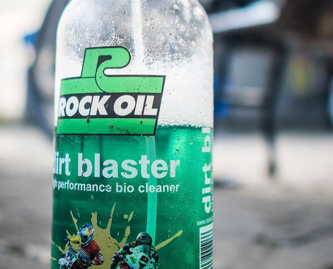 Rock Oil Dirt Blaster at GP Originals and British Superbikes