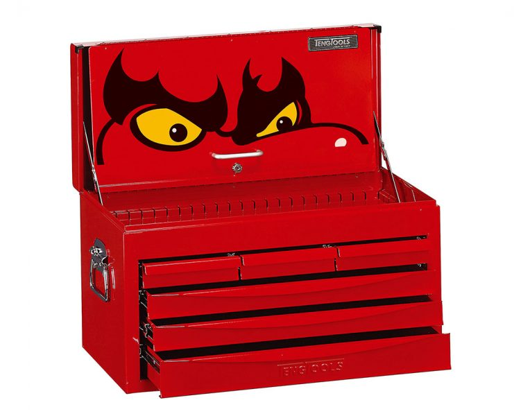 GP Originals Teng Tools Polaris Trophy – six drawer top box