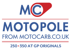 MotoPole rewards at GP Originals from Motocarb.co.uk