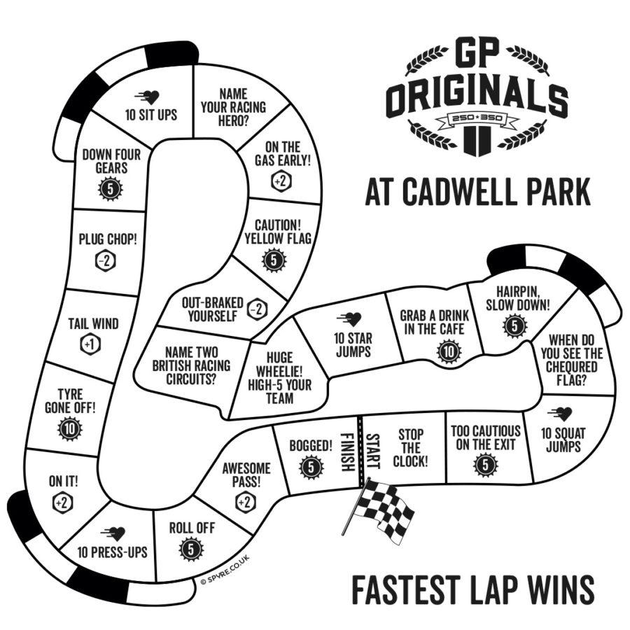 GP Originals Cadwell Park board game