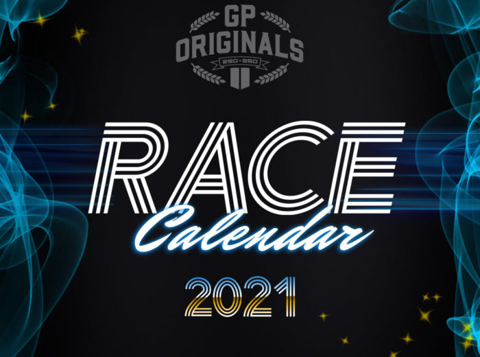 GP Originals race calendar 2021