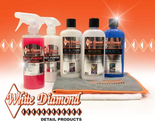 White Diamond polishing products at GP Originals