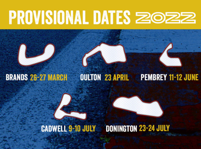 GP Originals calendar 2022